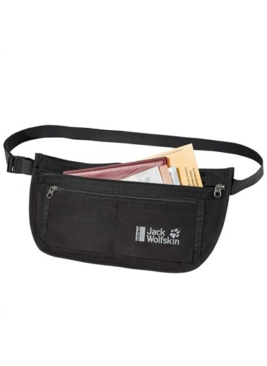 Jack Wolfskin Document Belt Rfıd Bel Çantası - 8006951-6000 Siyah
